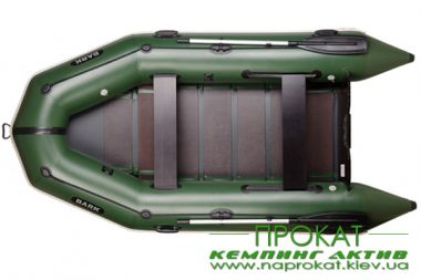 Rental inflatable boat motor